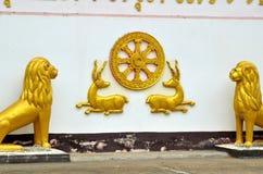 Ταϊλανδικό άγαλμα Στοκ Φωτογραφίες