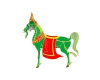 Ταϊλανδικό άλογο τέχνης Στοκ Φωτογραφία