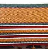 Ταϊλανδικό αρχιτεκτονικό στοιχείο Στοκ φωτογραφία με δικαίωμα ελεύθερης χρήσης