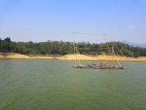 Ταϊλανδικό αλιευτικό σκάφος ύφους Στοκ Εικόνες