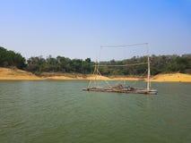 Ταϊλανδικό αλιευτικό σκάφος ύφους Στοκ εικόνα με δικαίωμα ελεύθερης χρήσης