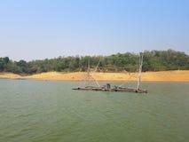 Ταϊλανδικό αλιευτικό σκάφος ύφους Στοκ εικόνες με δικαίωμα ελεύθερης χρήσης
