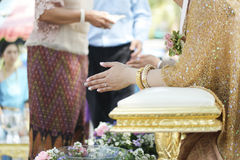 Ταϊλανδικό γαμήλιο θέμα Στοκ Φωτογραφίες