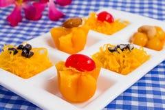 Ταϊλανδικό γλυκό επιδορπίων Στοκ Εικόνες