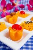 Ταϊλανδικό γλυκό επιδορπίων Στοκ φωτογραφία με δικαίωμα ελεύθερης χρήσης
