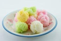 Ταϊλανδικό γλυκό επιδόρπιο Στοκ Εικόνες