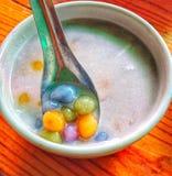Ταϊλανδικό γλυκό επιδόρπιο bua-Loy Στοκ Εικόνες