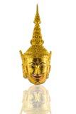 Ταϊλανδικό ειδώλιο μασκών ramayana Στοκ εικόνα με δικαίωμα ελεύθερης χρήσης