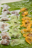 Ταϊλανδικό επιδόρπιο kanom Ταϊλανδός Στοκ Εικόνες