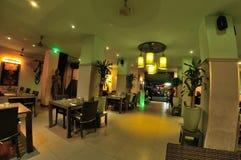 Ταϊλανδικό εσωτερικό σχέδιο εστιατορίων Στοκ Φωτογραφία