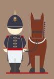 Ταϊλανδικό ιππικό Στοκ εικόνα με δικαίωμα ελεύθερης χρήσης
