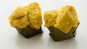 Ταϊλανδικό κέικ φοινικών χυμού φοινικόδεντρου ερήμων Στοκ φωτογραφίες με δικαίωμα ελεύθερης χρήσης