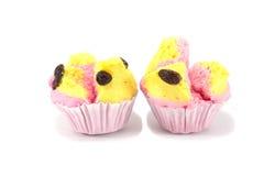 Ταϊλανδικό κέικ φλυτζανιών Στοκ Εικόνα