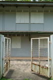 Ταϊλανδικό κατοικημένο κτήριο με τις πύλες Στοκ φωτογραφίες με δικαίωμα ελεύθερης χρήσης