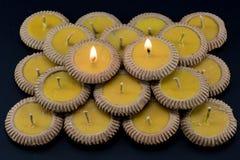 Ταϊλανδικό κερί αργίλου Στοκ εικόνες με δικαίωμα ελεύθερης χρήσης