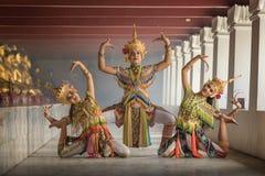 Ταϊλανδικό κοστούμι της Νόρα Στοκ Φωτογραφία