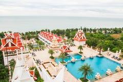 Ταϊλανδικό κλασικό ξενοδοχείο Στοκ εικόνες με δικαίωμα ελεύθερης χρήσης