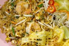 Ταϊλανδικό μαξιλάρι Ταϊλανδός τροφίμων Στοκ φωτογραφία με δικαίωμα ελεύθερης χρήσης