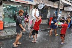 Ταϊλανδικό νέο έτος - Songkran Στοκ φωτογραφία με δικαίωμα ελεύθερης χρήσης