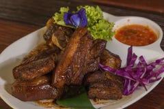 Ταϊλανδικό νότιο stew χοιρινού κρέατος ύφους στοκ φωτογραφία
