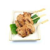 Ταϊλανδικό ορισμένο χοιρινό κρέας babeque στοκ φωτογραφία με δικαίωμα ελεύθερης χρήσης