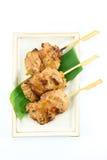 Ταϊλανδικό ορισμένο χοιρινό κρέας babeque στοκ εικόνα