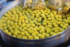 Ταϊλανδικό παραδοσιακό γλυκό επιδόρπιο Στοκ φωτογραφίες με δικαίωμα ελεύθερης χρήσης