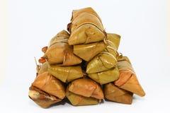 Ταϊλανδικό παραδοσιακό κολλώδες επιδόρπιο ρυζιού Στοκ φωτογραφία με δικαίωμα ελεύθερης χρήσης