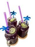 Ταϊλανδικό παραδοσιακό ποτό, χυμός ασβέστη σόδας Crake με τον πάγο Στοκ εικόνα με δικαίωμα ελεύθερης χρήσης