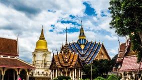 Ταϊλανδικό παραδοσιακό ύφος tempel Στοκ Εικόνες