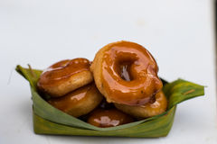 Ταϊλανδικό παραδοσιακό doughnut ύφους στοκ εικόνες