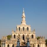 Ταϊλανδικό περίπτερο χοανών Στοκ φωτογραφία με δικαίωμα ελεύθερης χρήσης