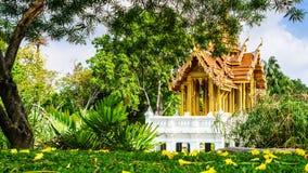 Ταϊλανδικό περίπτερο Plub Pla Yod σε Suanluang RAMA ΙΧ δημόσιο πάρκο, Β Στοκ φωτογραφία με δικαίωμα ελεύθερης χρήσης