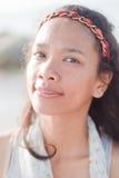 Ταϊλανδικό πορτρέτο κοριτσιών Στοκ εικόνα με δικαίωμα ελεύθερης χρήσης