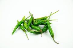 Ταϊλανδικό πράσινο τσίλι Στοκ Εικόνες