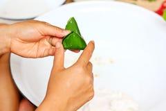 Ταϊλανδικό ρύζι επιδορπίων Στοκ φωτογραφία με δικαίωμα ελεύθερης χρήσης