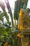 Ταϊλανδικό σπίτι πνευμάτων από την πλευρά Στοκ εικόνες με δικαίωμα ελεύθερης χρήσης