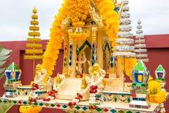 Ταϊλανδικό σπίτι πνευμάτων από το μέτωπο Στοκ Εικόνα