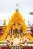Ταϊλανδικό σπίτι πνευμάτων από το μέτωπο Στοκ φωτογραφία με δικαίωμα ελεύθερης χρήσης