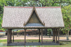 Ταϊλανδικό σπίτι Στοκ Εικόνες