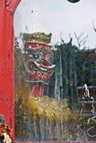 Ταϊλανδικό στοιχείο αρχιτεκτονικής Στοκ εικόνες με δικαίωμα ελεύθερης χρήσης
