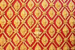 Ταϊλανδικό σχέδιο ζωγραφικής τέχνης χρυσό Στοκ εικόνες με δικαίωμα ελεύθερης χρήσης
