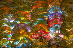 Ταϊλανδικό υπόβαθρο ομπρελών εγγράφου Στοκ φωτογραφία με δικαίωμα ελεύθερης χρήσης