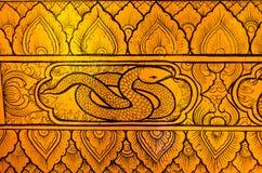 Ταϊλανδικό φίδι τέχνης tradional Στοκ φωτογραφία με δικαίωμα ελεύθερης χρήσης