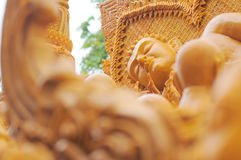 Ταϊλανδικό φεστιβάλ κεριών, Ταϊλάνδη Στοκ Εικόνες