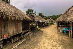 Ταϊλανδικό χωριό του γιου της Mai, Ταϊλάνδη Στοκ Φωτογραφίες
