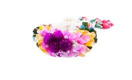Ταϊλανδικό ύφος γιρλαντών λουλουδιών Στοκ Εικόνα