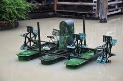 Ταϊλανδικό ύφος μηχανών στροβίλων νερού Στοκ Φωτογραφίες