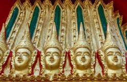 Ταϊλανδικό ύφος σχεδίων στο ναό Ταϊλάνδη Στοκ φωτογραφίες με δικαίωμα ελεύθερης χρήσης
