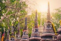 Ταϊλανδικό ύφος του νεκροταφείου Στοκ Φωτογραφίες